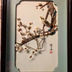 Feng shui picture cherry blossoms